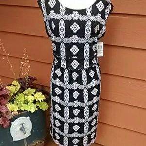 Black and White Dress by International Concepts